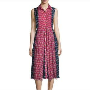 DVF Silk Nieves Dress